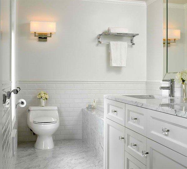 beautiful bathrooms using subway tiles