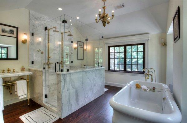 25 Beautiful Farmhouse Style Bathrooms Home Design Lover