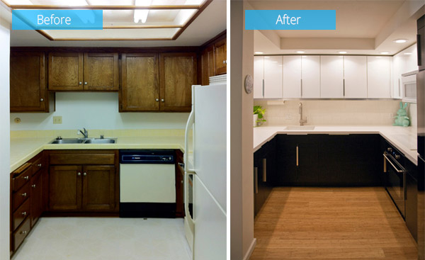 Before And After Photos Of A Townhouse Renovation In San