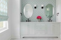 20 Beautiful Bathrooms Using Subway Tiles   Home Design Lover