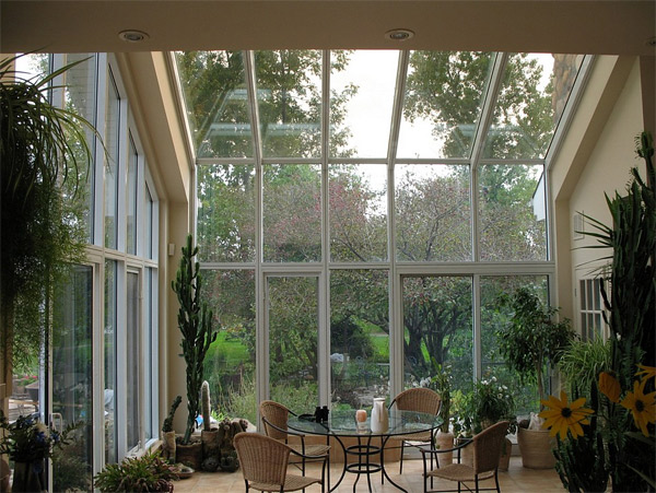 Get Tanned with 20 Glossy GlassRoofed Solariums  Home Design Lover