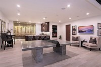 20 Man Cave Finished Basement Designs You'll Totally Envy ...