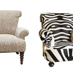 Print Chairs Living Room Coffee Table Design Ideas 23 Classic Animal Furniture Home Lover