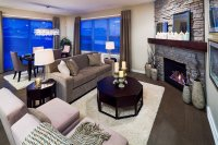 20 Appealing Corner Fireplace in the Living Room | Home ...