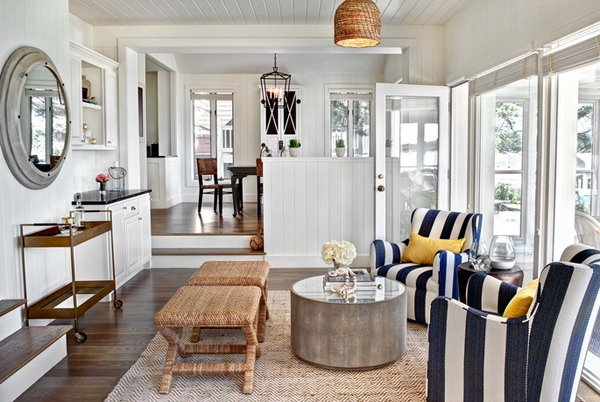 nautical themed living room ideas modern decor 20 home decorations in the design lover
