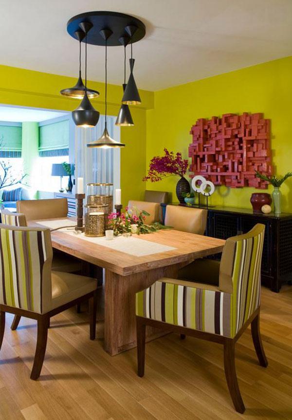 20 small dining room lighting designs