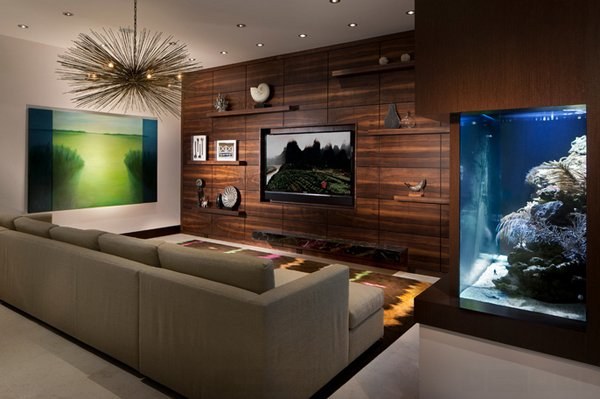 marge carson chairs chair rentals south jersey 22 contemporary living room designs with fish tanks | home design lover