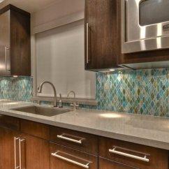 Colorful Kitchen Cabinets Decor Sets 20 Modern Backsplash Designs   Home Design Lover
