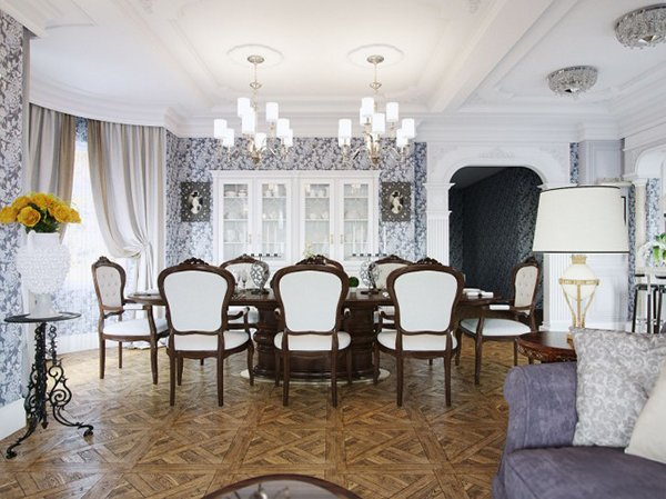 victorian table and chairs kyoto chair design within reach 20 elegant designs of dining rooms | home lover