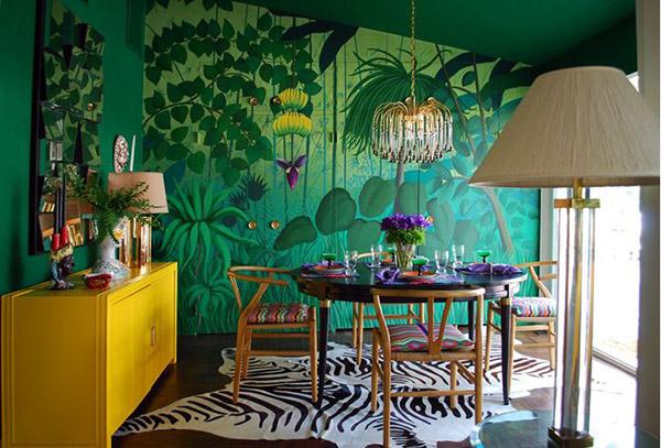 20 AweInspiring Art Deco Dining Room Designs  Home