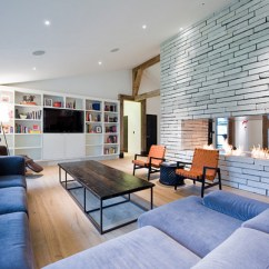 Small Living Room Layout With Fireplace Colors For Walls In 20 Beautiful Two Focal Points ...