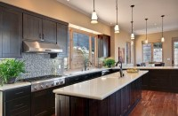 22 Beautiful Kitchen Colors with Dark Cabinets | Home ...