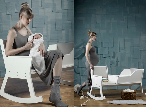 rocking chair and cradle in one star trek chairs rockid a home design lover