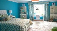 20 Fashionable Turquoise Bedroom Ideas | Home Design Lover