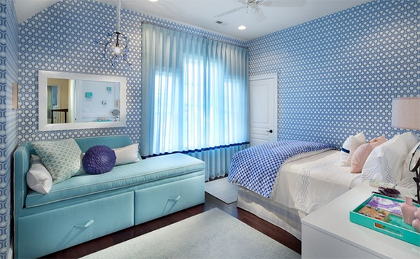 Modern Girl Bedroom Wallpaper 20 Examples Of Girls Bedroom Lounge You D Die For Home
