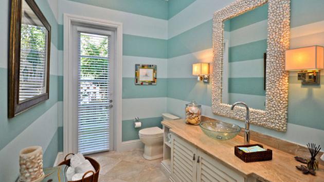 20 Beautiful Beach Bathroom Decors  Home Design Lover