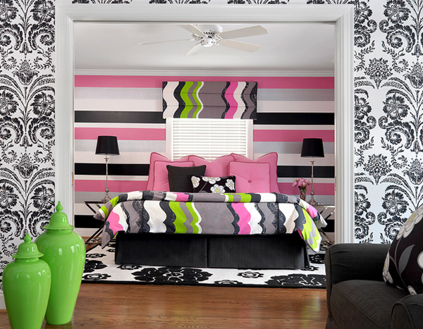 20 gorgeous pink and black accented