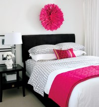 20 Gorgeous Pink and Black Accented Bedrooms | Home Design ...