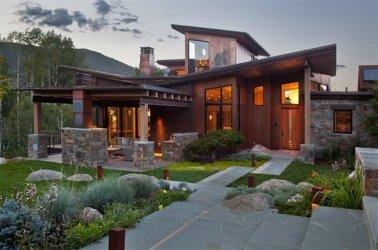 asian exterior japanese modern inspired designs ranch touch lake nature architecture modernism creek modernist denver