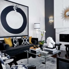 Decorate Living Room With Black Couch Wall Decal 20 Attractive Sofa Home Design Lover Designs