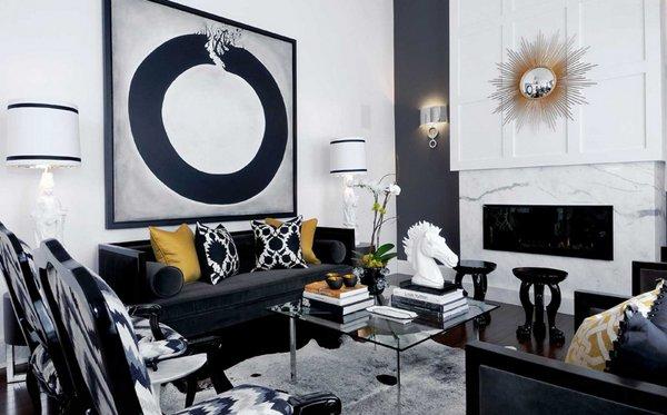 black sofa living room small colour design 20 attractive home lover designs