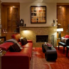 Santa Monica Sofa Set Nature S Sleep Gel Memory Foam Sleeper Mattress 22 Beautiful Red Sofas In The Living Room | Home Design Lover
