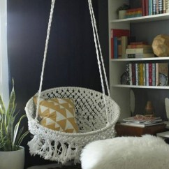 Macrame Hammock Chair Salon Hooded Hair Dryer With 20 Epic Ways To Diy Hanging And Swing Chairs | Home Design Lover