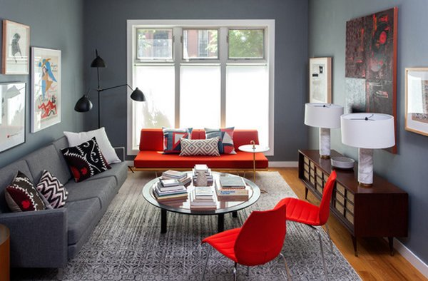 images of living room with red sofa best quality covers 22 beautiful sofas in the home design lover dark grey wall
