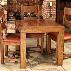 Chairs For High Table Chair Cover Hire York 20 Splendid Square Oak Dining Room Tables | Home Design Lover