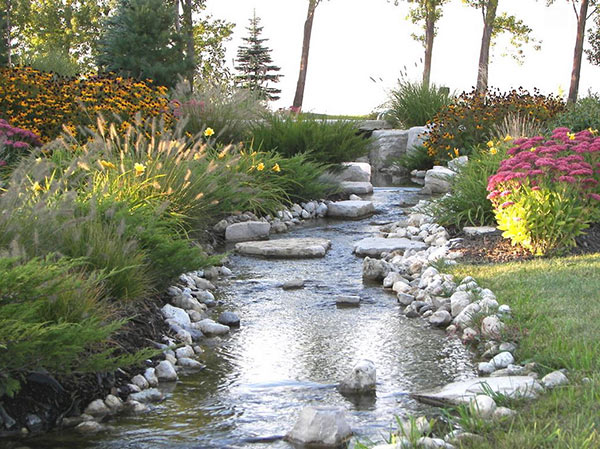 outdoor spaces showcasing natural