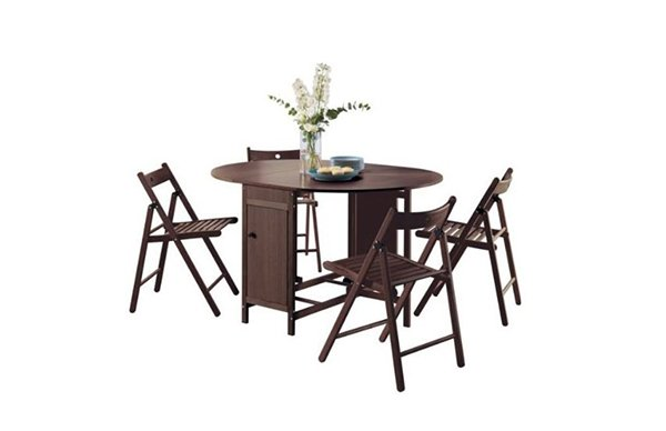 rubberwood butterfly table with 4 chairs paris side chair 20 drop leaf folding home design lover set oval dining and