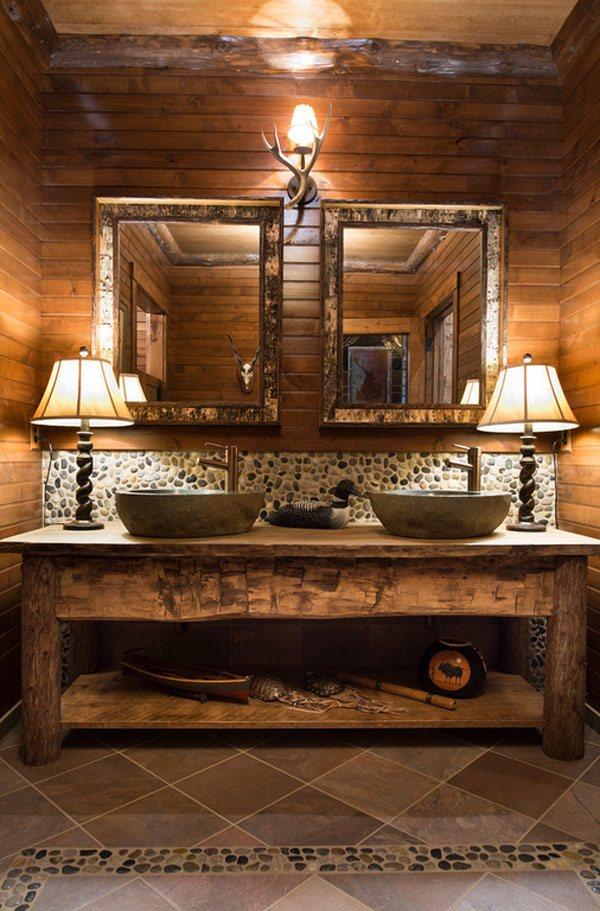 26 Impressive Ideas Of Rustic Bathroom Vanity Home Design Lover
