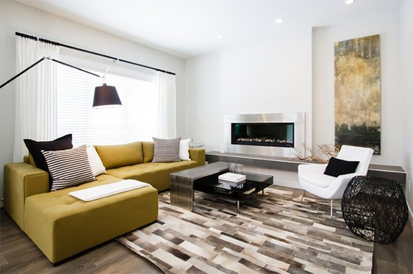 sectional sofa vancouver lounge sleeper 20 design ideas for condo living areas   home lover