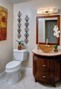 22 Eclectic Ideas of Bathroom Wall Decor