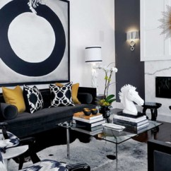 Fuschia Sofa Macys Set 20 Attractive Black Living Room | Home Design Lover