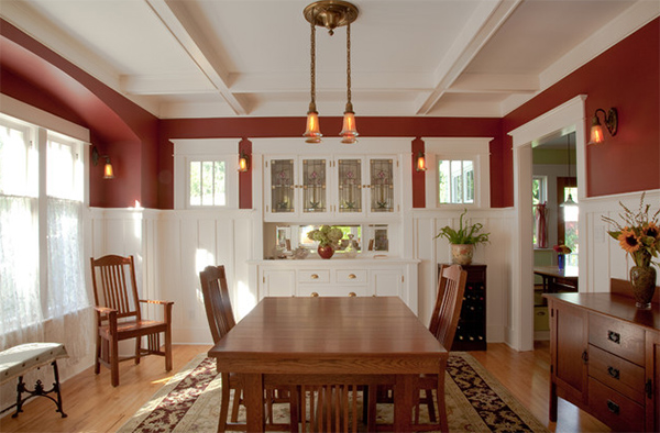 20 craftsman dining rooms featuring
