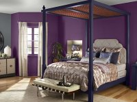 20 Pleasant Purple and Gold Bedrooms | Home Design Lover