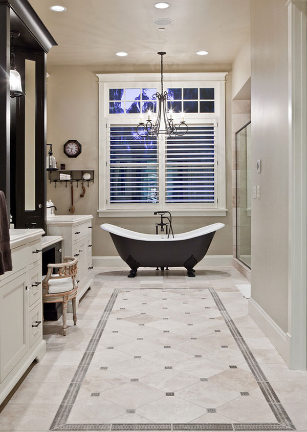 classy bathroom flooring ideas