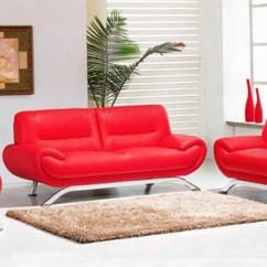 Modern Leather Living Room Sets Paint Schemes 20 Ravishing Red Furniture Home Design Lover