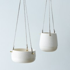 Hanging Chair Egg High Stool Gumtree 24 Pretty Ceramic Planters | Home Design Lover