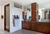 20 Stunning Contemporary Dark Wood Bathroom Vanity | Home ...
