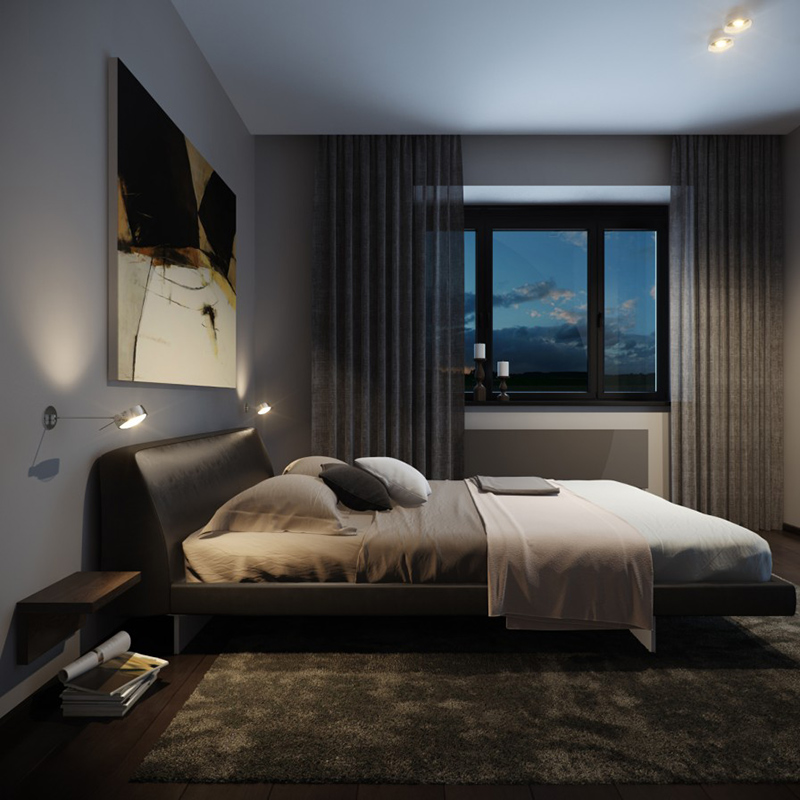 22 Bachelors Pad Bedrooms for Young Energetic Men  Home