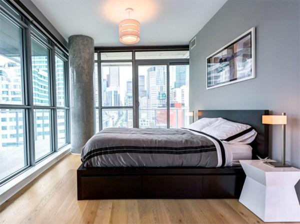 bachelor bedroom design ideas vintage 22 Bachelor's Pad Bedrooms for Young Energetic Men | Home Design Lover