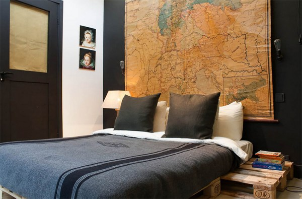 bachelor bedroom design ideas vintage 22 Bachelor's Pad Bedrooms for Young Energetic Men | Home