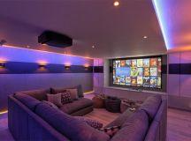 20 Well-Designed Contemporary Home Cinema Ideas for the ...