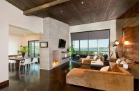 23 Living Rooms with Wooden Ceilings Exuding a Warm Aura
