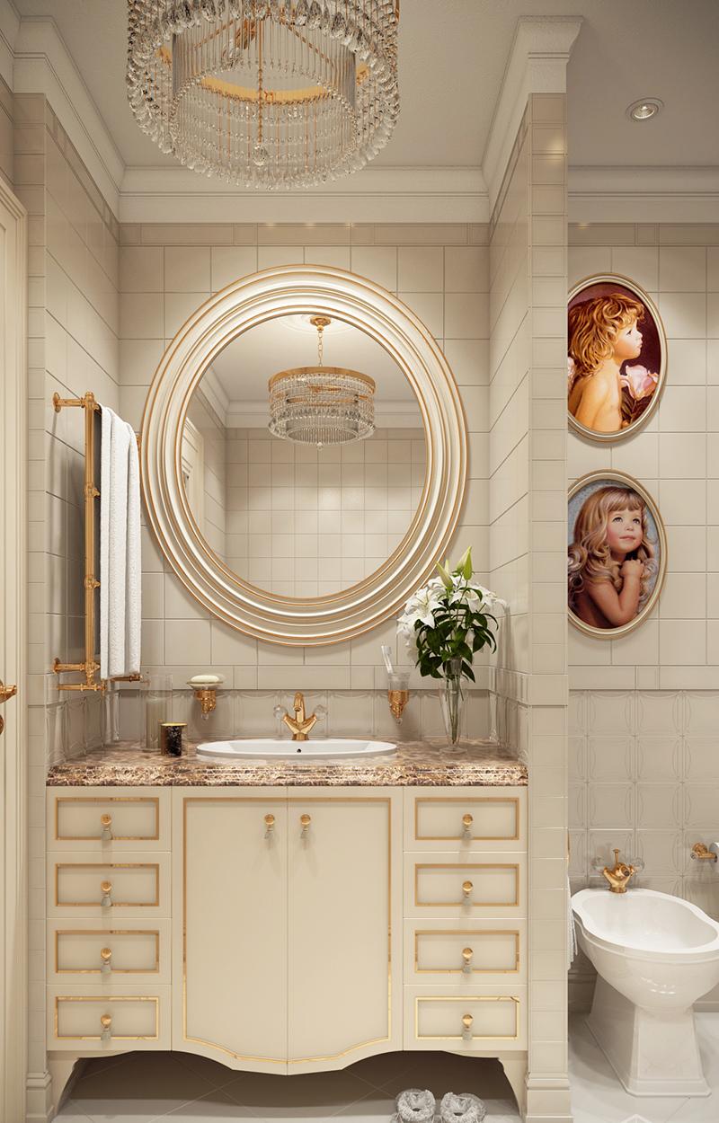 22 Beige Contemporary Bathroom Vanity Designs to Inspire