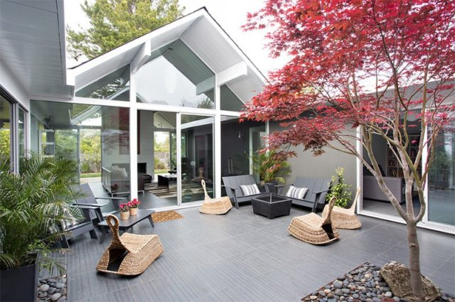 25 Relaxing Mid Century Outdoor Spaces Home Design Lover