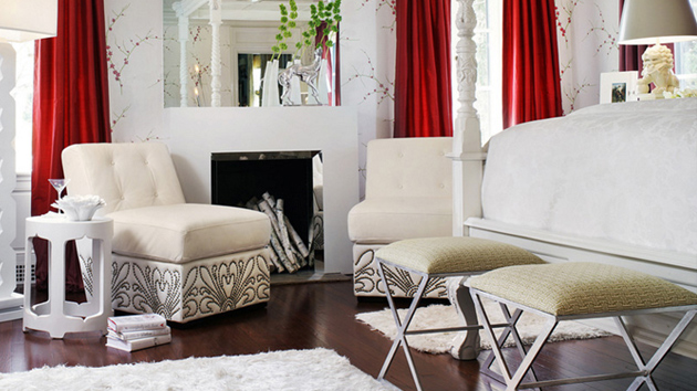 25 Fancy White Chairs in the Bedroom