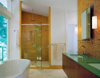 20 Contemporary Bathrooms with Vaulted Ceiling | Home ...